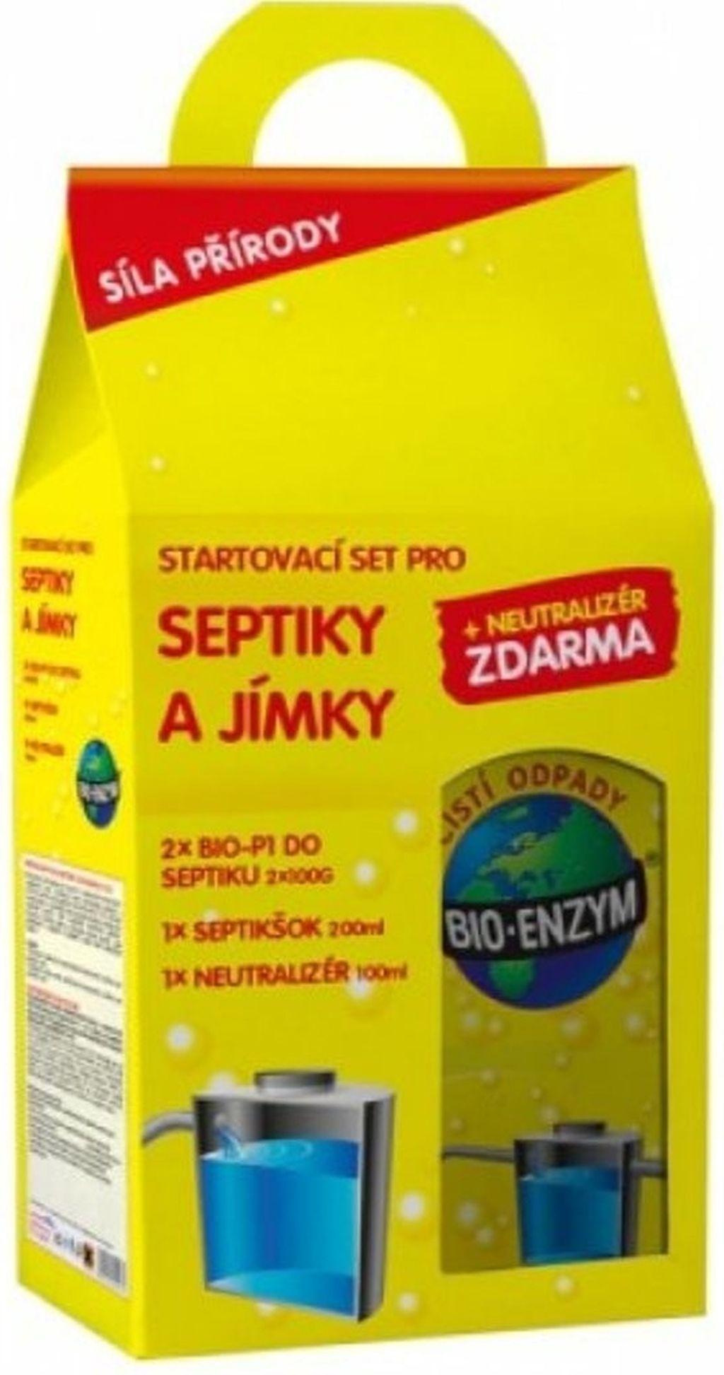 Bio Enzym Startovací set pro septiky a jímky