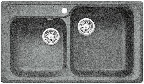 BLANCO Classic 8 dřez Silgranit aluminium 511685