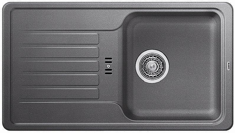 BLANCO Favos mini dřez Silgranit aluminium 518184