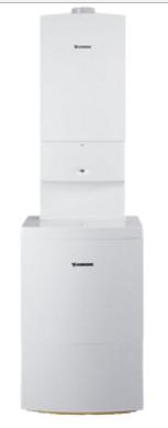 JUNKERS ZSBR 16-3 E + ST 120-2E CerapurComfort sestava kondenzačního kotle a zásobníku