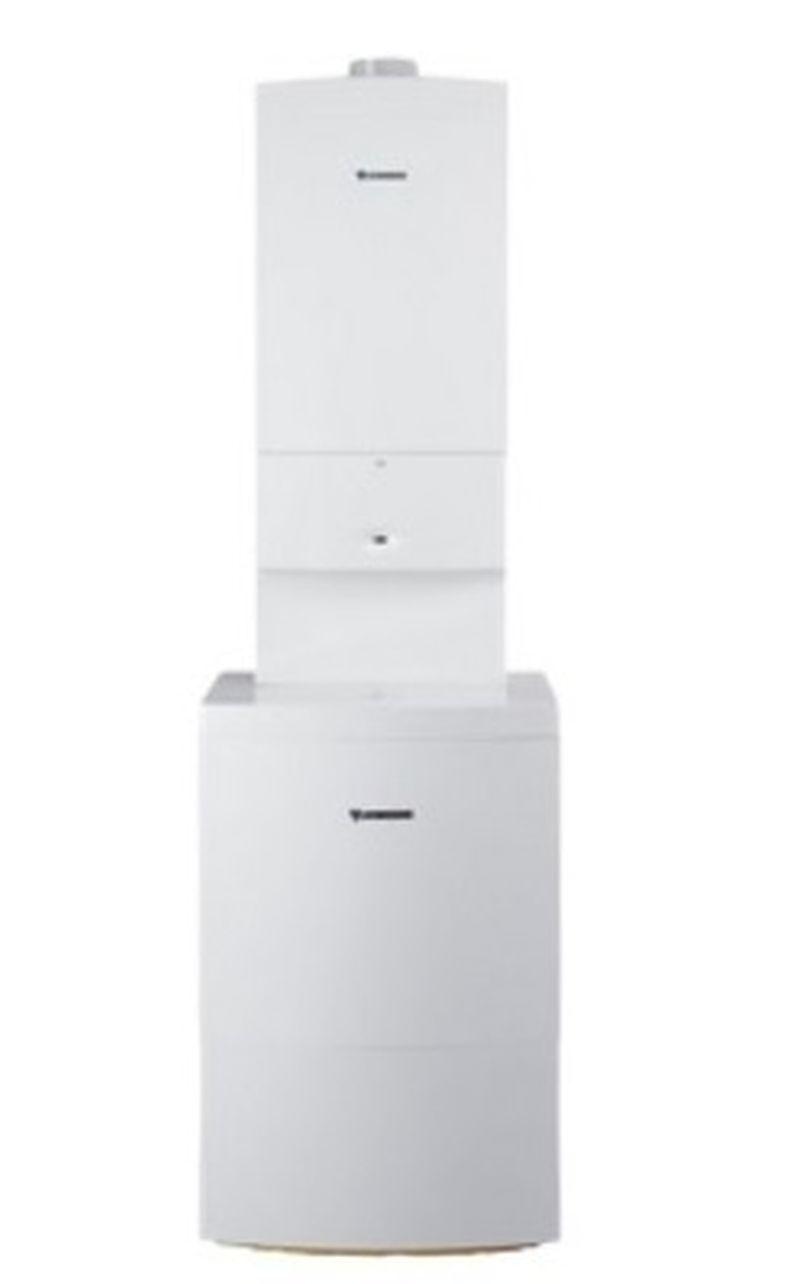 JUNKERS CerapurSmart ZSB 14-3 CE + ST 120-2E sestava kondenzačního kotle a zásobníku