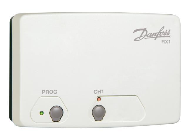 Danfoss RX1 Přijímač signálů od prostorových termostatů 087N7476