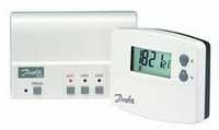 Danfoss TP5001-RF Elektron. prostorový termostat přenosem signálu k přijímači 087N791202