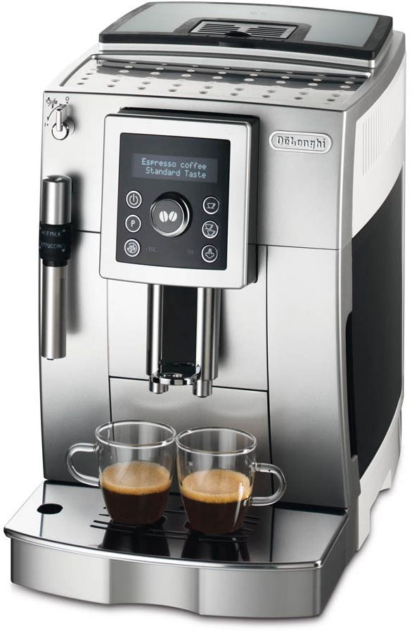DeLonghi Plnoautomatický kávovar ECAM 23.420.SW, bílá/stříbrná 40029878