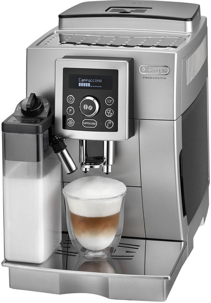 DeLonghi Plnoautomatický kávovar ECAM 23.460.S, stříbrná 41001350