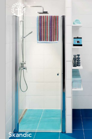 Gustavsberg Skandic JOD 80 jednodílné otevírací dveře (L i P) DW0080SKA100W-61