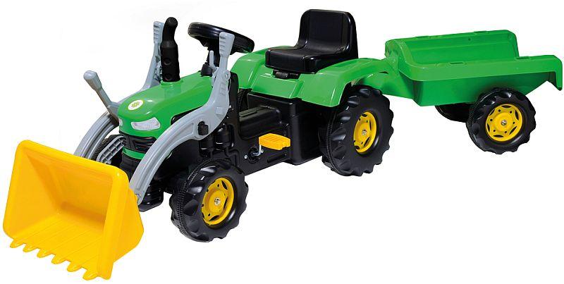 BUDDY TOYS BPT 1031 Šlapací traktor se lžící 57000302