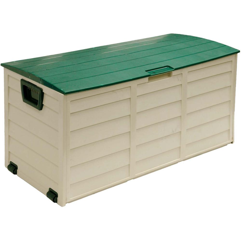 FIELDMANN FDD 1002G Designový plastový zahradní box s kolečky 50001837