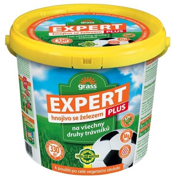 FORESTINA Trávníkové hnojivo Expert Plus 10kg v kyblíku 1206023