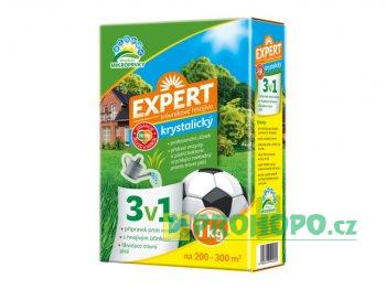 FORESTINA Trávníkové hnojivo Expert 3v1 1kg - proti mechu a likvidaci plsti 1206053