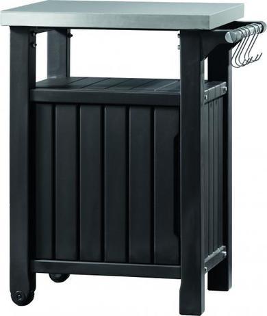 KETER ENTERTAINMENT Small multifunkční stolek grafit 17202663
