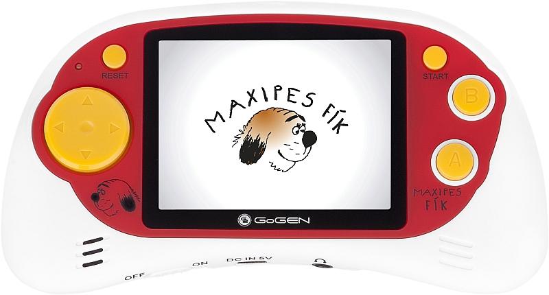 "GoGEN kapesní hra MAXI HRY 150 W, 2,7"" LCD displej, 150 her, bílá"