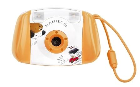 GoGEN dětský digitální fotoaparát MAXI FOTO, oranžová barva