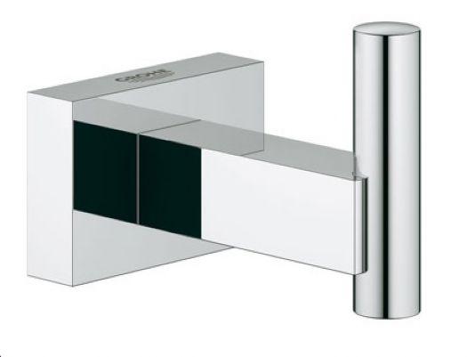 GROHE Essentials Cube háček na koupací plášť, chrom 40511000