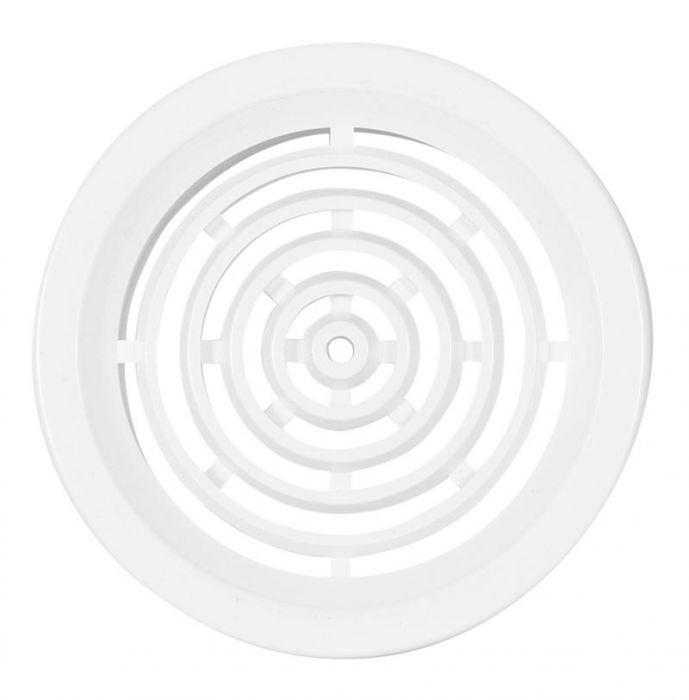 HACO větrací mřížka kruhová VM 50 B plast, bílá 0413