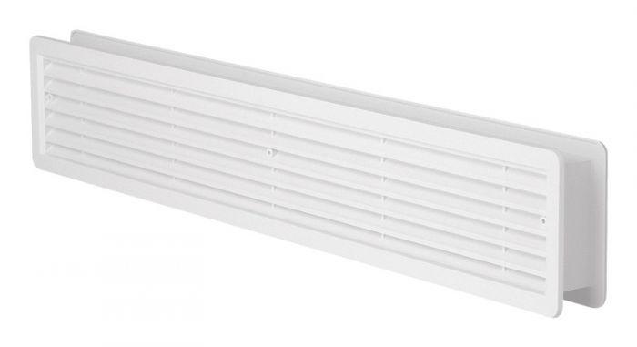 HACO větrací mřížka dveřní VM 500x90 DB plast, bílá 0201