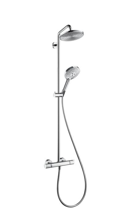 Hansgrohe Raindance Select S 240 1jet Showerpipe EcoSmart 9 l/min 27116000