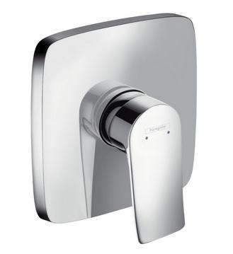 Hansgrohe METRIS New, sprchová baterie pod omítku, chrom 31456000