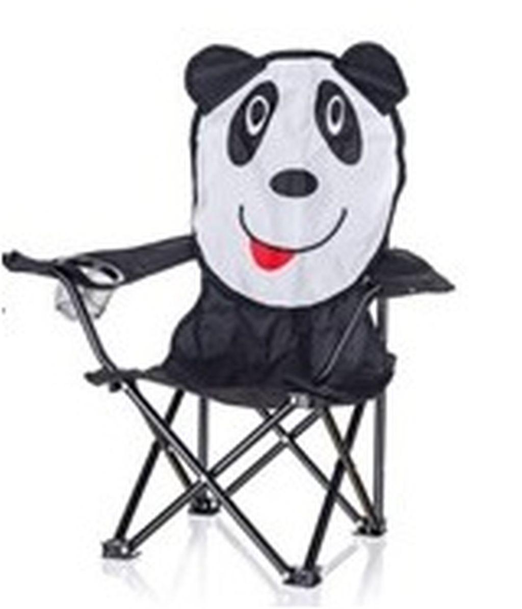 HAPPY GREEN Křeslo dětské, panda 502062