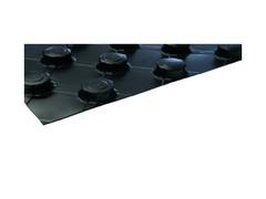 HERZ Nopová deska bez tepelné izolace, černá 1400 x 800 x 10 mm, 3F03011