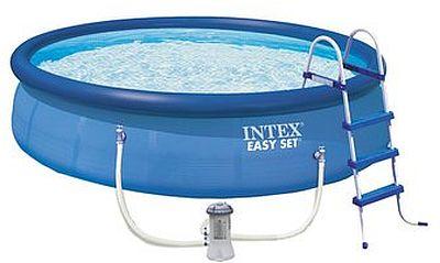 INTEX Bazén Easy Set Pools 457 x 107 cm s kartušovou fitrací, 28166