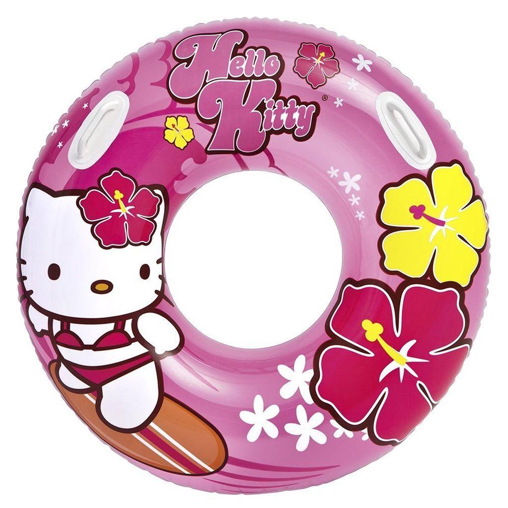 INTEX Velký nafukovací kruh Hello Kitty 97cm 58269