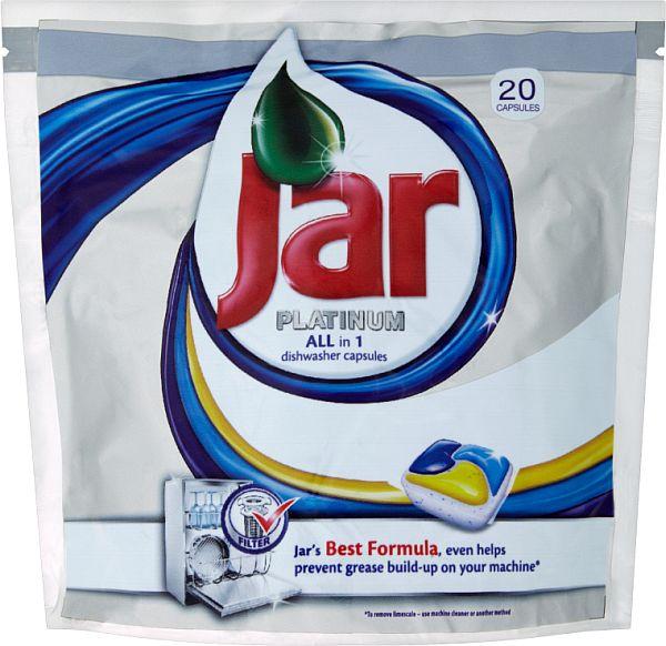 Jar Platinum kapsle do myčky 20 ks