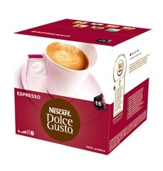 Kapsle Nescafé ESPRESSO 16 ks k Dolce Gusto