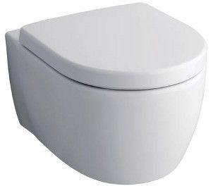 KERAMAG Icon závesné WC bez splachovacího kruhu, 6L, bílá + KeraTect 204060600