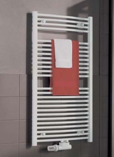 Kermi B20-R M koupelnový radiátor 764 x 890 mm, zaoblený, bílá LR01M0800902XXK