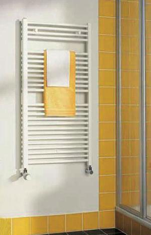 Kermi B20-S koupelnový radiátor 1174 x 390 mm, rovný, bílá LS0101200402XXK