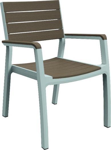KETER HARMONY zahradní židle, bílá/cappuccino 17201284