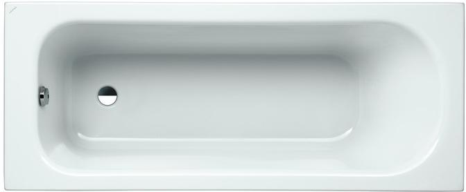 LAUFEN SOLUTIONS Vana 170x70cm, levá, s L-panelem, Microban 2.2250.6.300.000.1