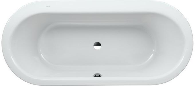LAUFEN SOLUTIONS Vana 180x80cm, bílá LCC, 150l, samostatná s panelem, 2.2451.2.300.000.1