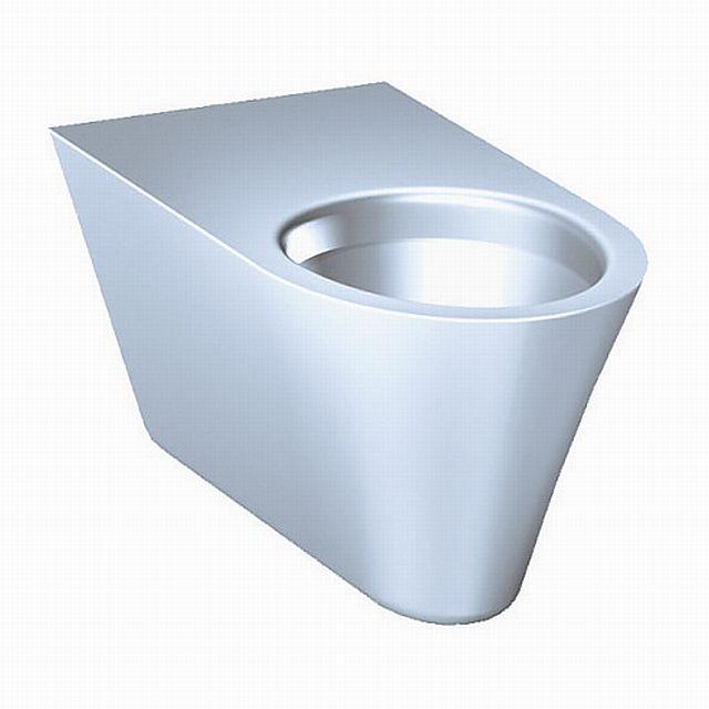 SANELA Nerezové závěsné WC SLWN 11 pro tělesně handicapované 94110