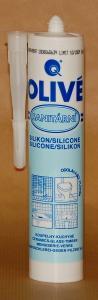 OLIVÉ sanitární silikon bílá 310 ml