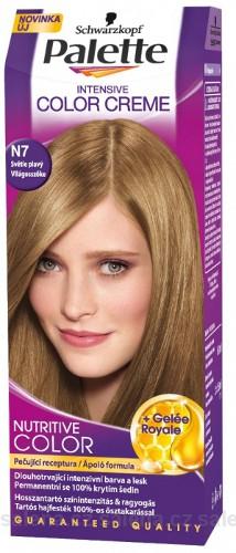 PALETTE ICC N7 Barva na vlasy světle plavá