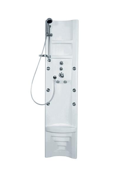TEIKO Pamo rohový masážní panel s pákovou baterií V261185N65T01011