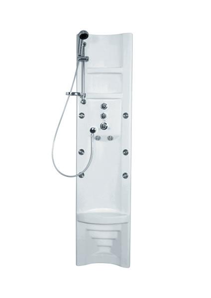 TEIKO Pamo Therm rohový masážní panel s termostatickou baterií V261185N65T01021