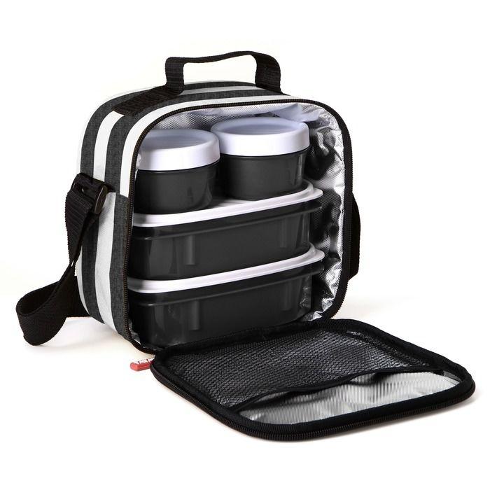 PLASTICOS TA-TAY set termo tašky a 4 plastových dóz 1167505