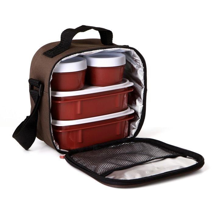 PLASTICOS TA-TAY set termo tašky a 4 plastových dóz 1167501