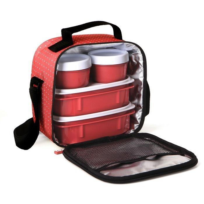 PLASTICOS TA-TAY set termo tašky a 4 plastových dóz 1167507