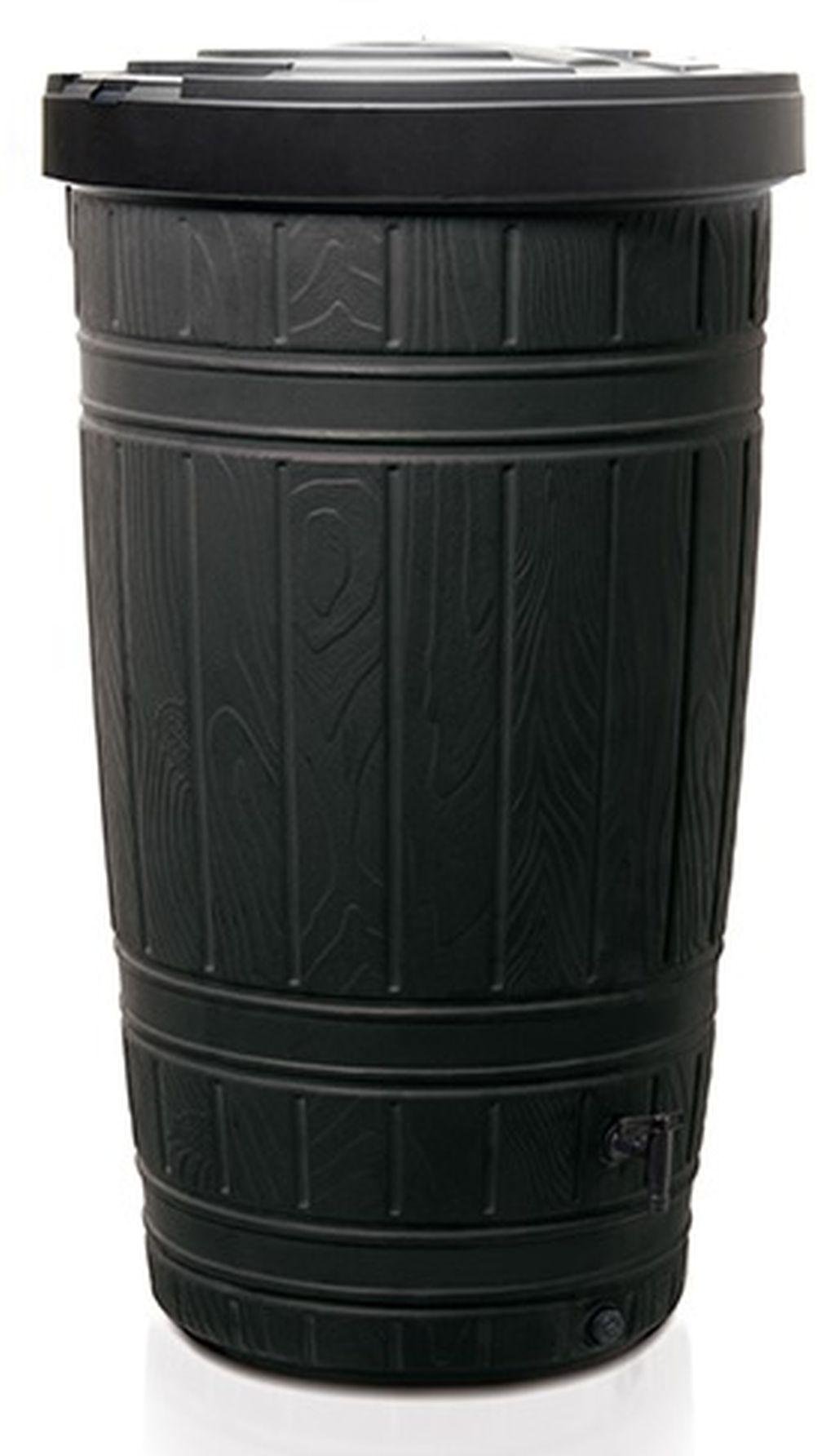 PROSPERPLAST WOODCAN sud na dešťovou vodu 265l, černá IDWO265