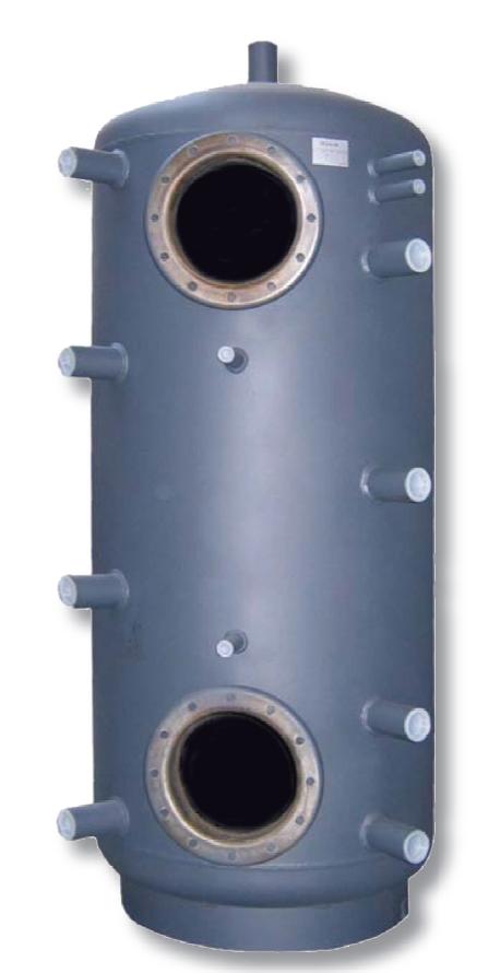 """REGULUS akumulační nádrž PS2F 500, 9 návarků G 6/4"""", 500 litrů 6267"""