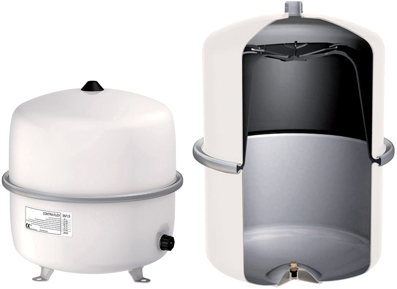 OPTILINE nádoba expanzní CF 80, bílá, 6 bar 268952