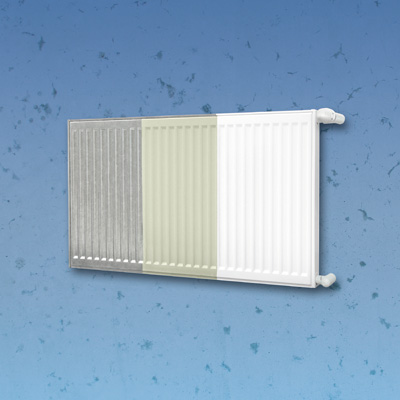 KORADO RADIK deskový pozinkovaný radiátor typ KLASIK - Z 21 300 / 1100 21-030110-50Z10