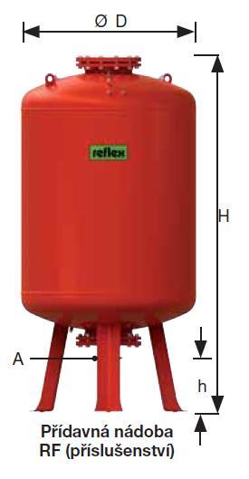 Reflex Reflexomat expanzní automat RF 200 přídavná nádoba, 6 barů 7789100