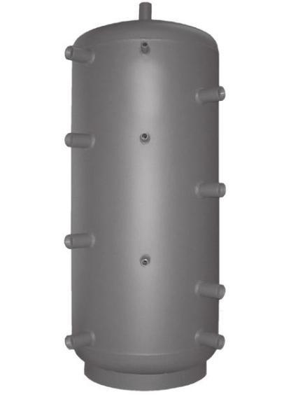 """REGULUS akumulační nádrž PS 500 N, 9 návarků G 6/4"""", 474 litrů 10054"""