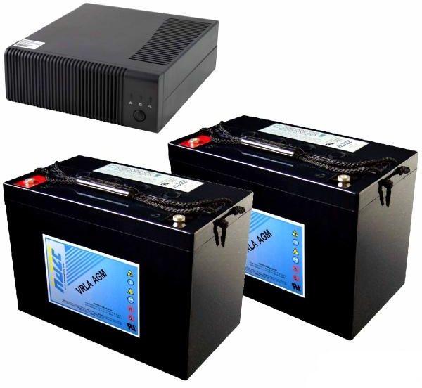 REGULUS Zdroj záložní PG2000 + 2x akumulátor 100Ah