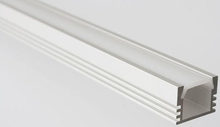 SAPHO LED U profil 16x12mm, eloxovaný hliník, 1m KL1718-1
